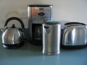 Breville Appliances. From left to right: Empor...