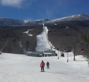 Stowe Mountain Resort. 2014-01-28