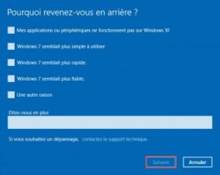 Enquete Windows 10