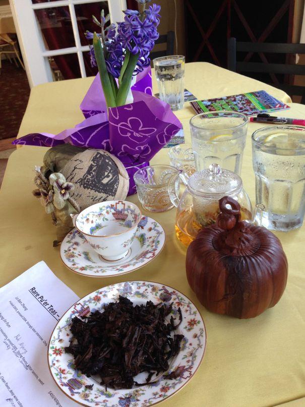 Pu'er Tea Tasting