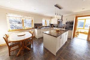 The spacious Nia Roo Kitchen