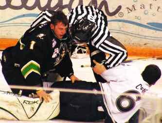 Saskatoon vs Prince Albert - break it up!