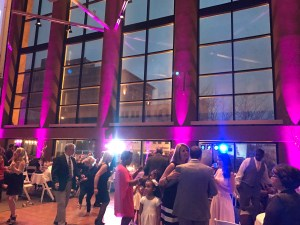 dj one tyme hero for hire uplighting rental wireless wedding