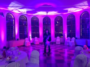 wedding dj uplighting - djonetime.com