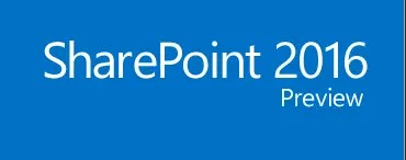 SharePoint Server 2016 (Preview)