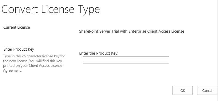 Convert License Type