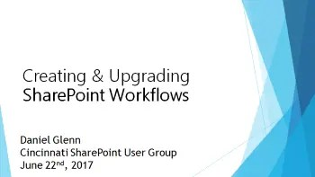 Cincinnati SharePoint User Group – June 22nd