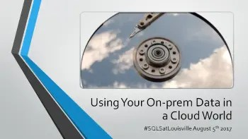 SQL Saturday Louisville 2017