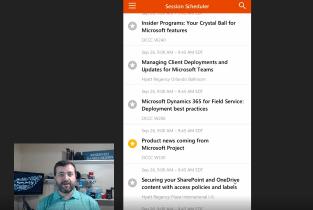 Microsoft Ignite Mobile App #MSIgnite