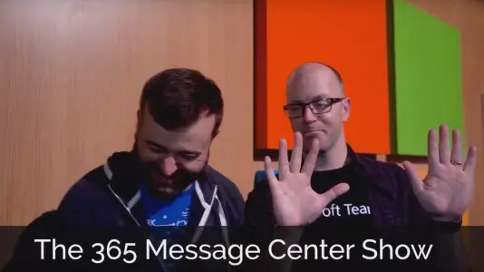 365 Message Center Show #83 @regarding365 #RE365