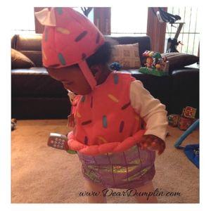 Dumplins First Halloween - Dear Dumplin
