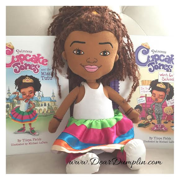 Princess Cupcake Jones Books and Doll