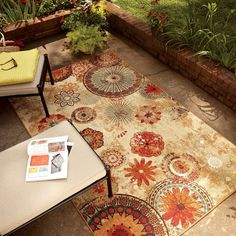 warm outdoor carpet