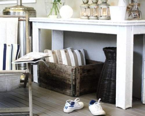 patio console table