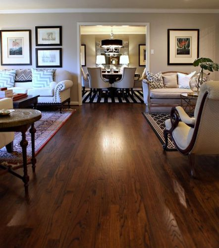 11 ways to get more natural light to dark roomsdecorated life for Wood floor paint colors