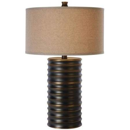 Trend Lighting Pique Aged Brass Table Lamp
