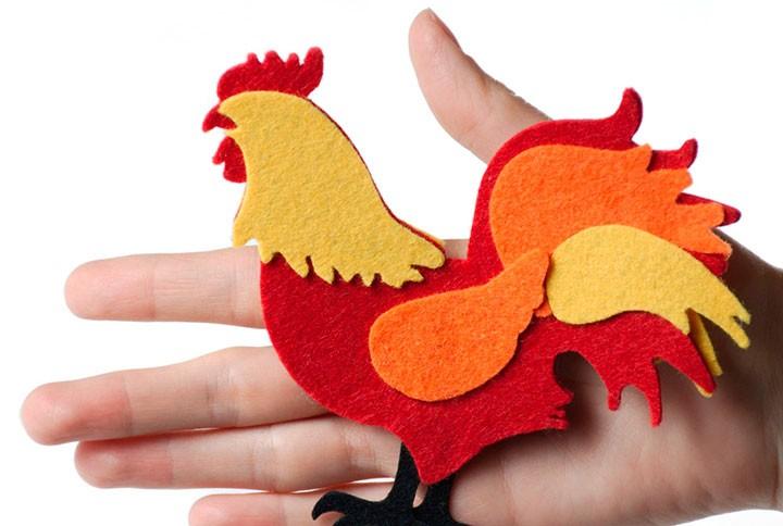 Calp kohout pro nový rok: 10 způsobů, jak vytvořit koření s vlastními rukama + photo