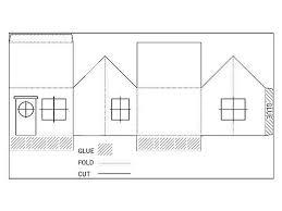 طرح یک خانه کاغذی با دست خود را با نمودارها و عکس ها
