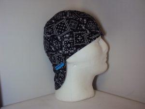 Classic Bandanna Black Welding Cap
