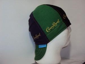 Crown Royal Welding Cap Black Green and Purple CR Bags