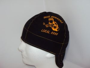 Embroidered Iron Workers Union And Local Number Welders Cap