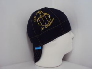 Embroidered Draggin Up Welding Cap