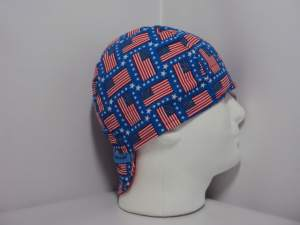 Stars and Stripes Welding Cap