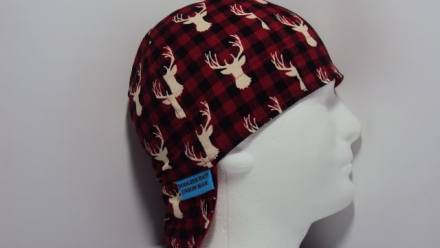 Buck Buffalo Plaid Welders Hat
