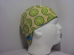 Lime Slice Welding Hat