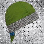 Hounds Tooth Grey Band Welding Hat
