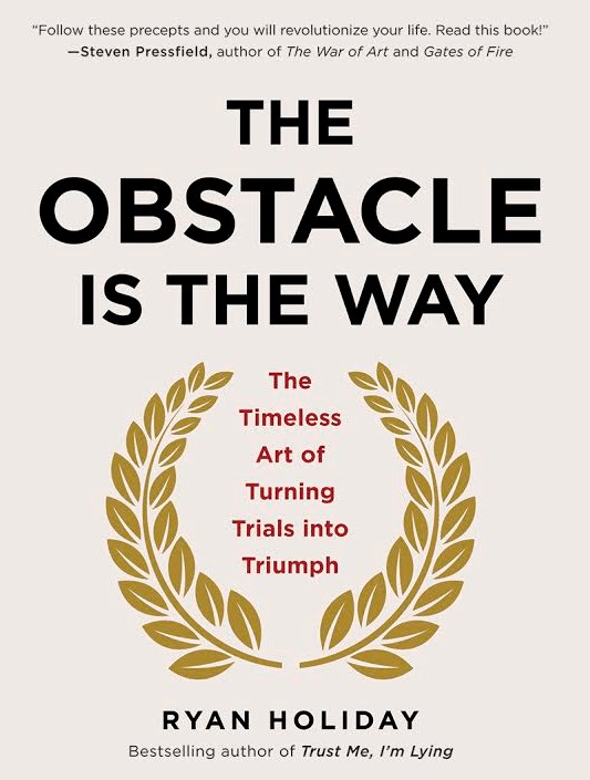 the Obstacle is the way ryan holiday dreallday.com