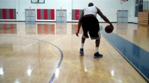 2-step crossover and reverse crossover full court dribbling drill dre baldwin