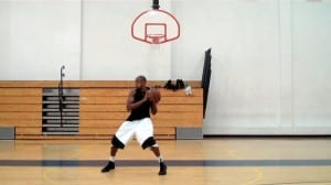 zach randolph post crab dribble baby hook move dre baldwin