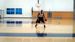 Footwork As A Weapon - Thru-Triangle Combo, Spin Move Finish Left Hand - Dre Baldwin