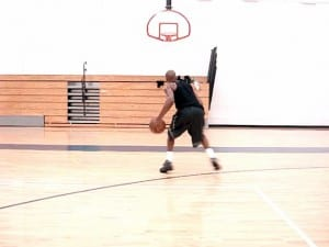 Jamal Crawford Catch & Shot Fake, Pound-Behind Crossover Pullup Jumper - Dre Baldwin