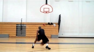 Crossover, Behind Back Front-Back Hops Dribbling Drill - Dre Baldwin