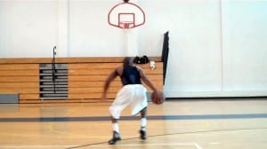 Be Creative! Streetball In & Out-Triangle Combo, Back-Thru Floater Finish dre baldwin