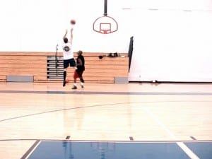 Shooting Workout - Straight-On 3pt Ladder Drill - Dre Baldwin
