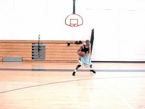 Triple Threat Moves - Crossover Step, Spin Dribble-In & Out-Cross Pullup Jumpshot - Dre Baldwin