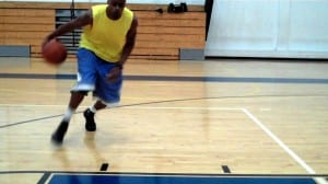 In & Out-Crossover, Thru-Crossover Ball Handling Drill - Dre Baldwin
