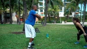 Lateral Step Drill w/ Power Resistance Band - Dre Baldwin