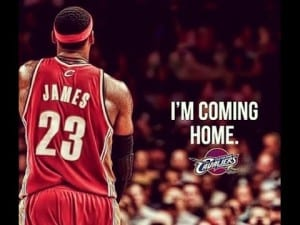 """LeBron James Returns To Cleveland via """"The Letter"""": Now What?  dre baldwin"""