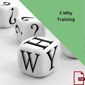 5 why method training