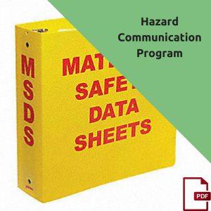 hazardous communication standard