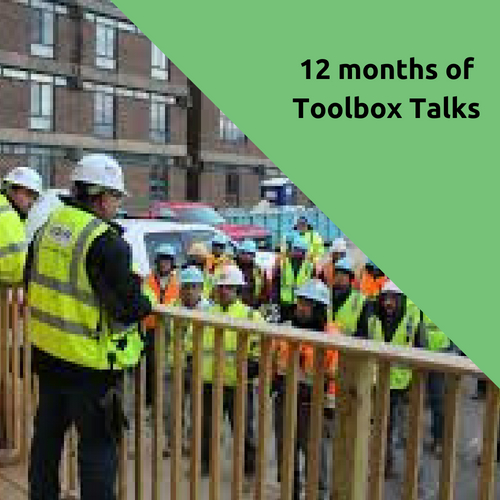 12 Months of Toolbox Talks