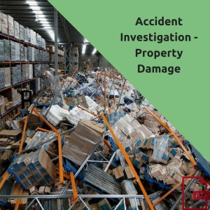 investigate all property damage as if it were an injury