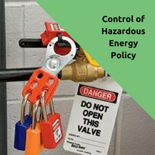 Control of Hazardous Energy Program