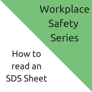 SDS form explained