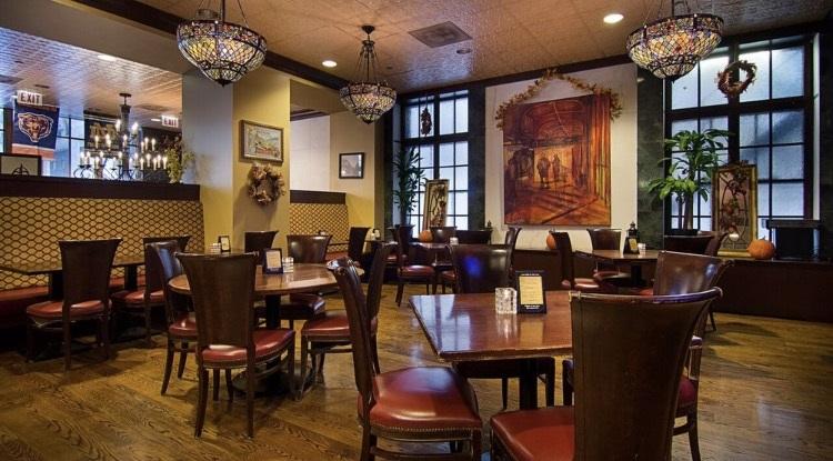 Emerald Loop dining room 2017