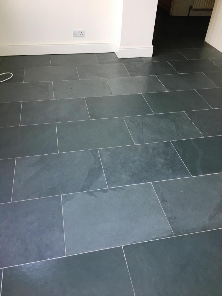 Slate Tiled Floor Oxted After Renovation